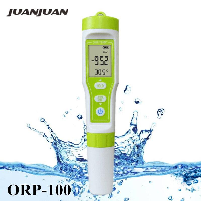 ORP-100 Redox ORP Medidor de Qualidade Da Água Monitor Detector Pen Tipo LCD digital Analyzer Tester 40% Off