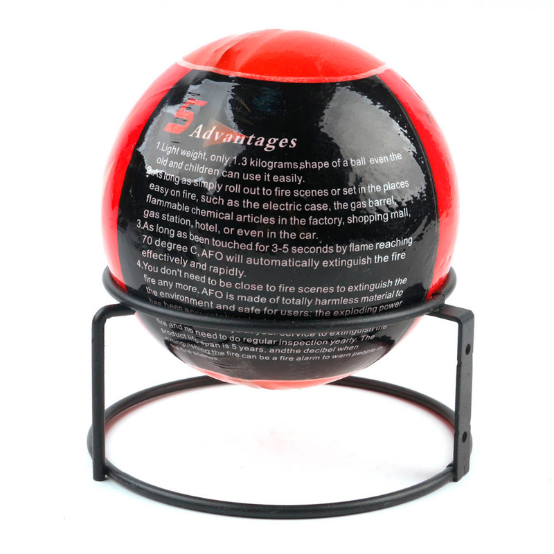 Fire Harmless Dry Powder Fire Extinguishing Ball 20 Square Meters Automatically Extinguish The Fire Protection Validity for Home mostly harmless