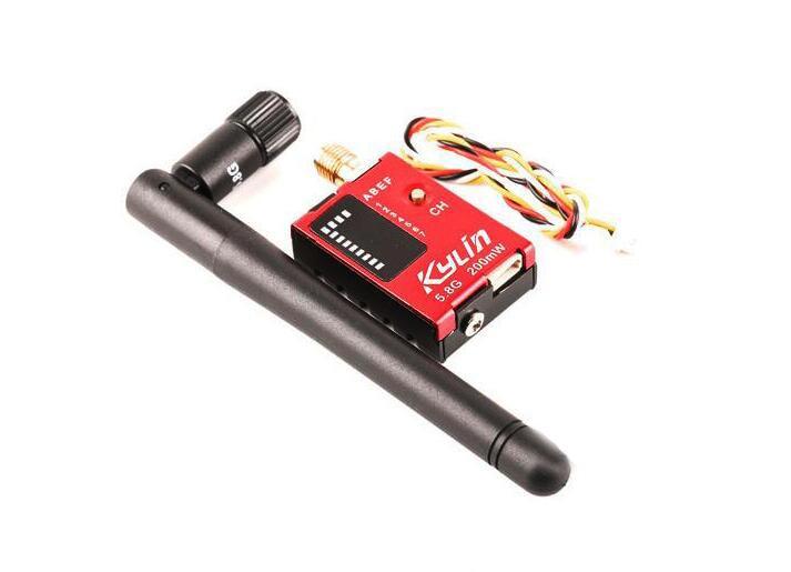 Free Shipping Kylin 5.8G 200mW/600mW 32CH Audio Video Transmitter AV Tx for FPV Multicopter Quadcopter free shipping tx600 5 8g 600mw fpv transmitter video tx av 32ch video for for dji phantom 2