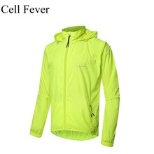 цена на Men's Cycling Jacket UPF50+ Bicycle Bike Windproof Jacket Long Sleeve Breathable Outdoor Sportswear Cycling Clothing Ciclismo