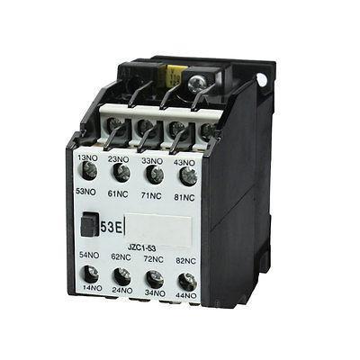 JZC1-53 5NO 3NC 110V/50Hz 127V/60Hz Coil Auxiliary Contactor Relay двери форпост в зеленограде