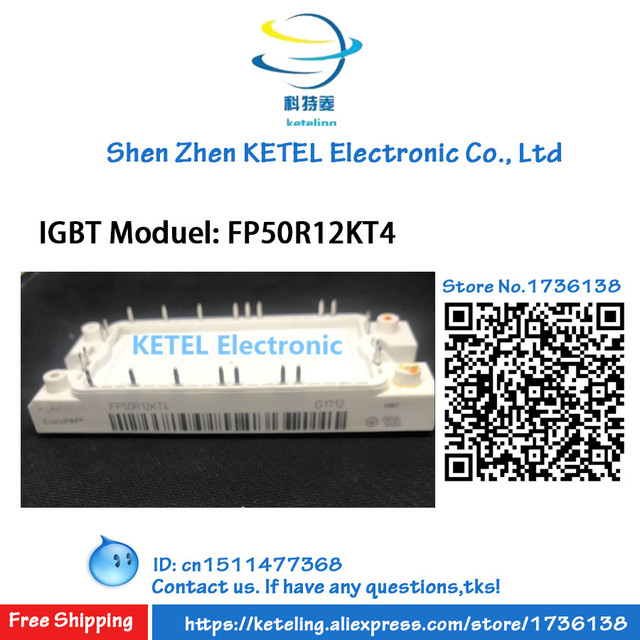 Module IGBT FP35R12KT4_B11 FP35R12KT4