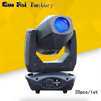 20pcs/lot LED 200W Stage lights 3in1 Beam LED Zoom Moving Head DMX512 disco lights professional stage dj equipment