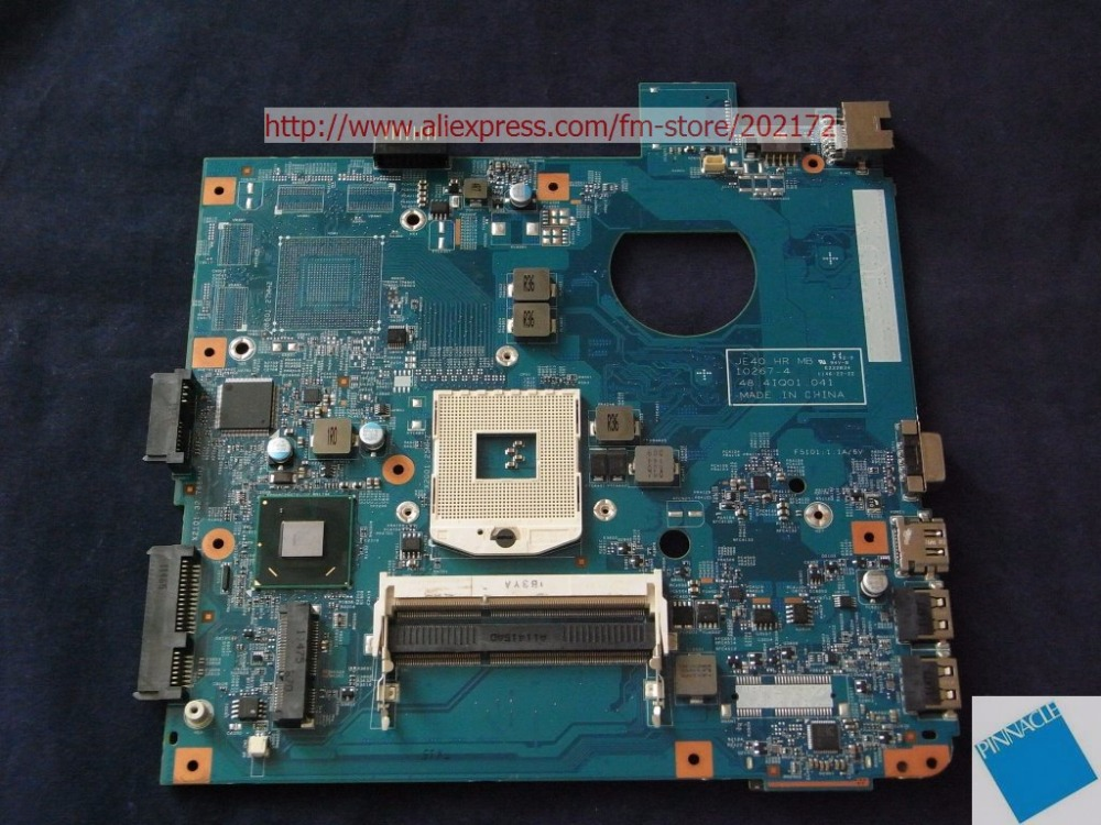 MBBRV01003 Motherboard for Packard Bell Easynote NS11-HR NS44-HR NS45 48.4IQ01.041 JE40 HR MB ноутбук packard bell easynote tg81ba c7nd celeron n3050 1 6ghz 2gb 15 6 500gb nodvd wifi bt w8 1 black nx c3yer 007