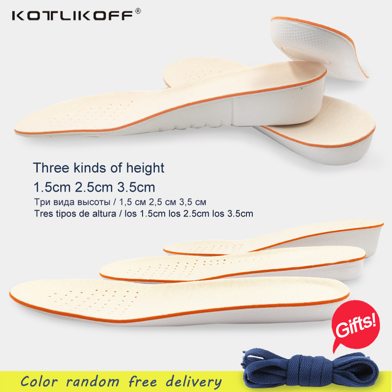 1 pair Height Increase Insole shoe sole EVA Men Women school insole  Adjustable Sports Shoes Pad shoe inserts shoes accessories