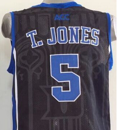2af09edde6d 5 Tyus Jones Duke Blue Devils Jersey Blue,white Retro Throwback T 5 Duke  Blue Devils Nike Authentic ...