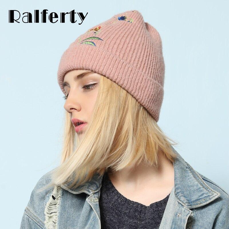 Favorito Ralferty Donne Alla Moda Cappello di Inverno Berretto A Maglia  YG74