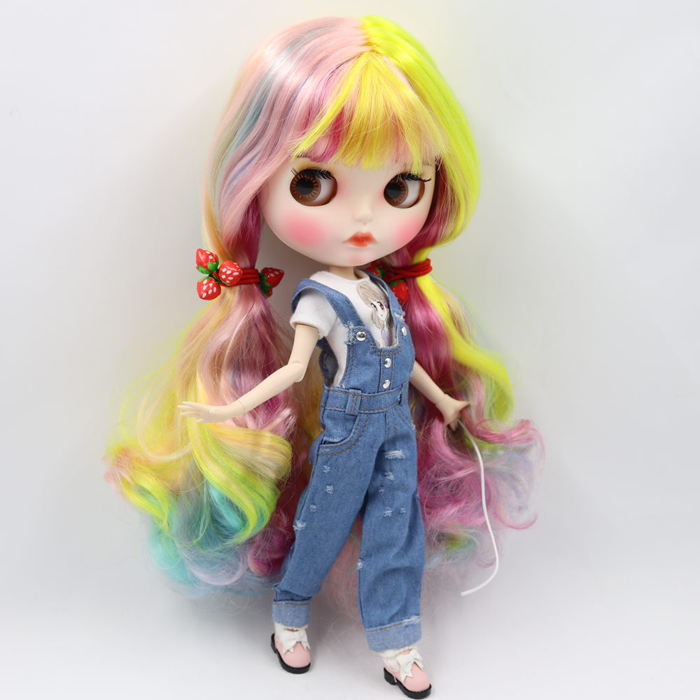 ICY Nude Blyth Doll No 1010 1019 1049 6227 4268 3208 1010 Colorful hair Carved lips