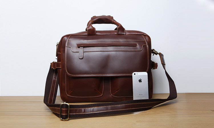 LAN Free shipping mens leather briefcases Shoulder bag handbag,Men Travel Bags computer Business bag,Briefcase