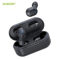 AUSDOM TW01 TWS беспроводные Bluetooth наушники 20 H Playtime CVC8.0 шумоподавление 8 мм динамик Беспроводные наушники с двойной микрофон