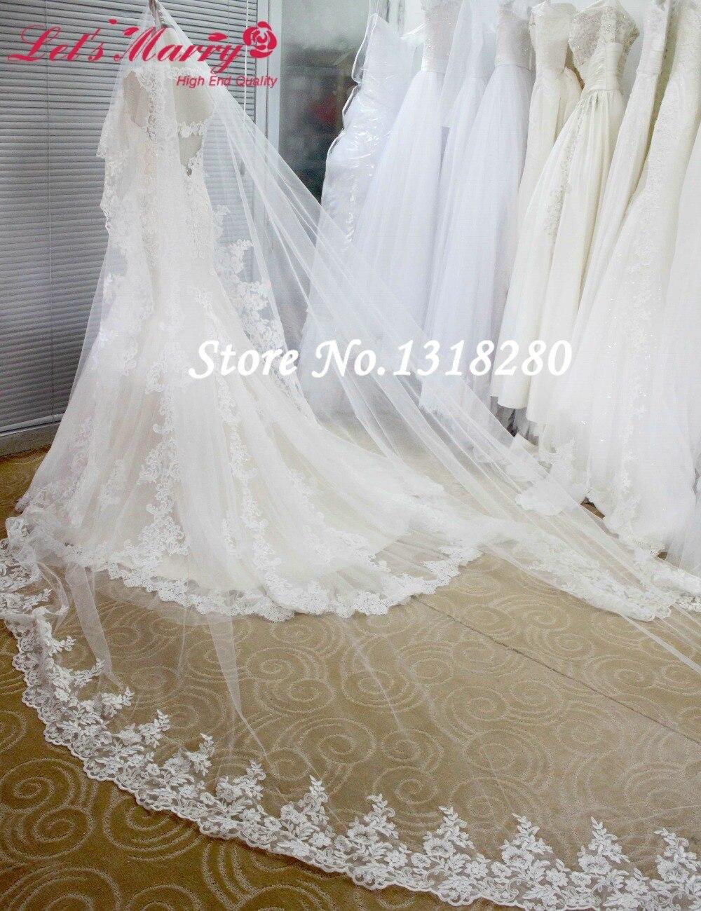 4c56a033d3 Vestidos de novia elegantes con velo largo - Vestido azul