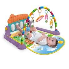 Новинка для фитнеса, для малышей, для малышей, для музыкального пианино, для спортзала, напольный коврик, коврик, игрушки, коврик-пазл, развивающий коврик с клавиатурой для фортепиано