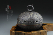 Joojak incense holder handmade ceramic burner antique tower sandalwood furnace vintage plate