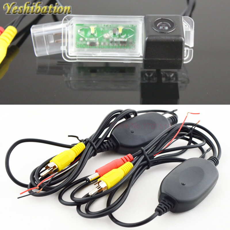 Yeshibation Wireless CCD Reverse Back Up Camera <font><b>For</b></font> Volkswagen <font><b>VW</b></font> B7 B7L CC <font><b>Golf</b></font> <font><b>6</b></font> <font><b>GTI</b></font> 2013 Parking Camera License Plate Light image