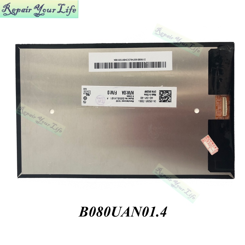 repair you life tablet lcd b080uan01 4 for acer iconia tab a1 rh aliexpress com