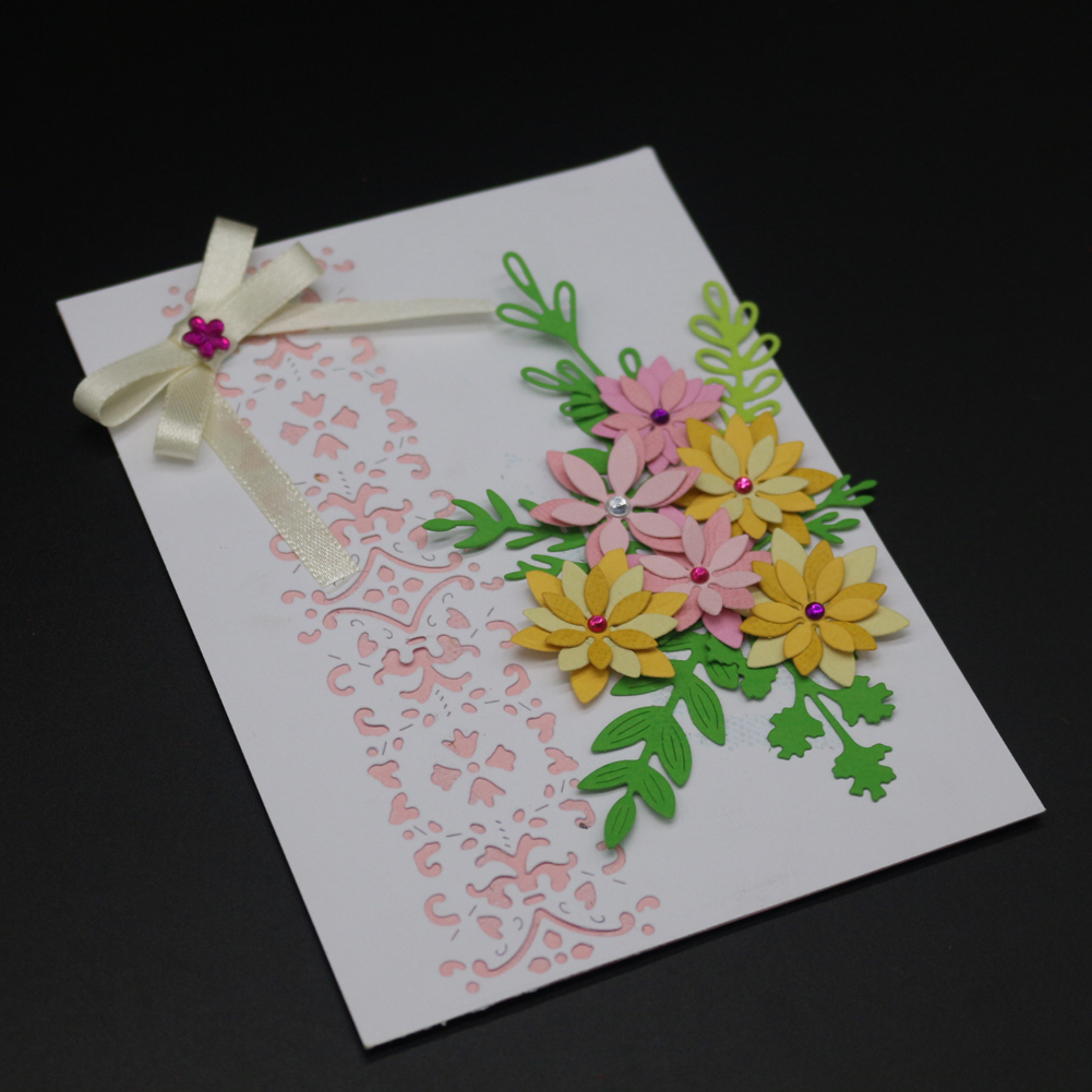Leaves Metal Cutting Dies Stencils for Scrapbooking Card Decor Diy Craft New 2018 stansen en cutting dies stanzschablonen in Cutting Dies from Home Garden
