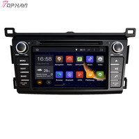 TOPNAVI 7'' Quad Core Android 6.0 Car DVD Play for TOYOTA RAV4 2013 Stereo Multimedia16Gb Flash Autoradio GPS Navigation