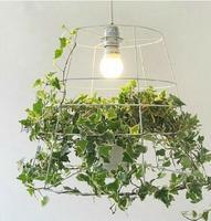 Подвесные светильники Вавилон Индивидуальный творческий зеленый горшечных растений Nordic дизайнер Ресторан корейский спальня LU719148