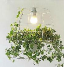 Pendant Lights Babylon personalized creative green potted plants Nordic designer restaurant Korean bedroom LU719148