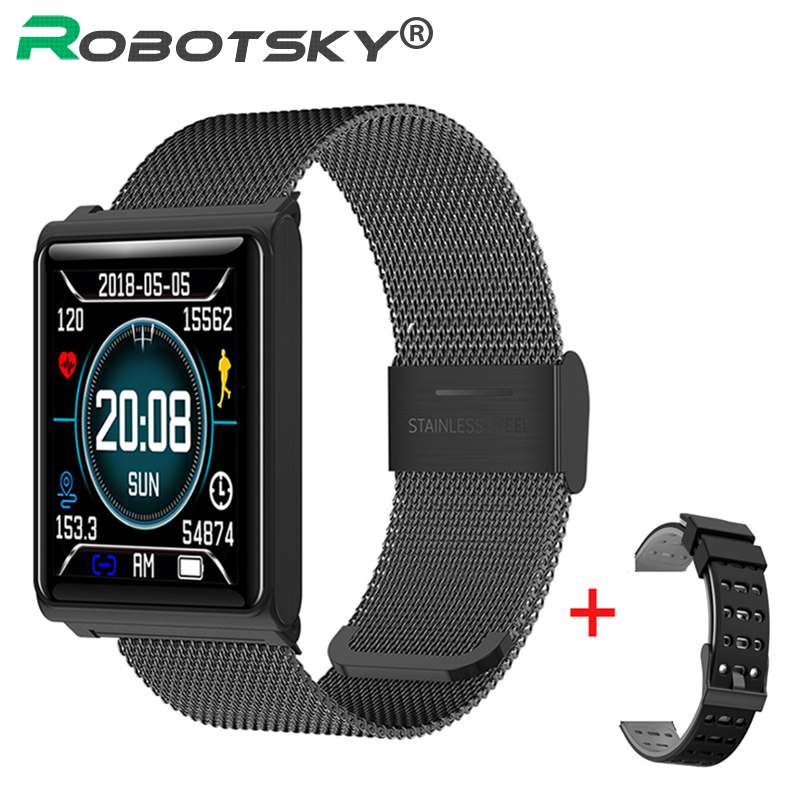 N98 Smart Uhr Herz Rate Wasserdichte Smart armband Passometer Blutdruck Smart Armband Fitness Tracker Smart Uhr