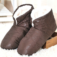 Buena Calidad Del Hogar Zapatillas De Plumas Superficie Inferior Suave de Los Hombres Zapatillas Hombres Zapatos Solo En Forma de Un Tamaño 29 cm Tamaño de Europa 40-44