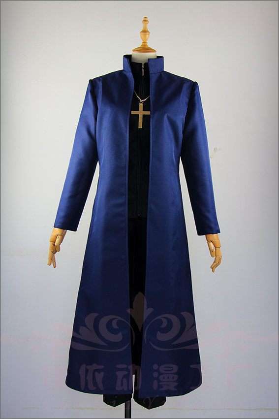 Fate Grand Order Kotomine Kirei cosplay costume customize any size