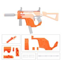 3D Printing High Precision Modularized Plastic MOD Orange Kriss Vector Imitation Kit 6 Items for Nerf STRYFE Modify Toys Guns