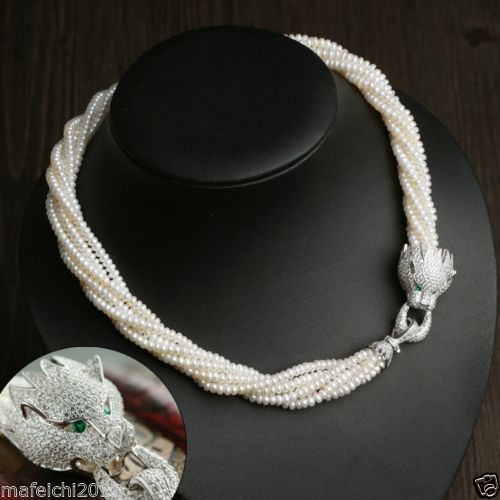 Hot sell ->@@ BEAUTIFUL AAA Akoya White PEARL NECKLACE silver CLASP -Top quality free shipping