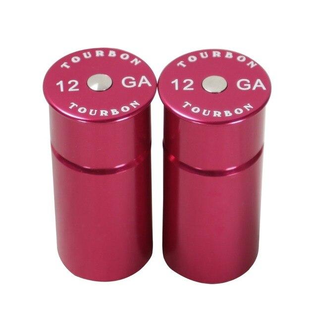 Tourbon Hunting 12 Gauge Shotgun Snap Caps Tactical Training Rounds 2pcs Reusable Dry Firing Shooting Gun Accessories
