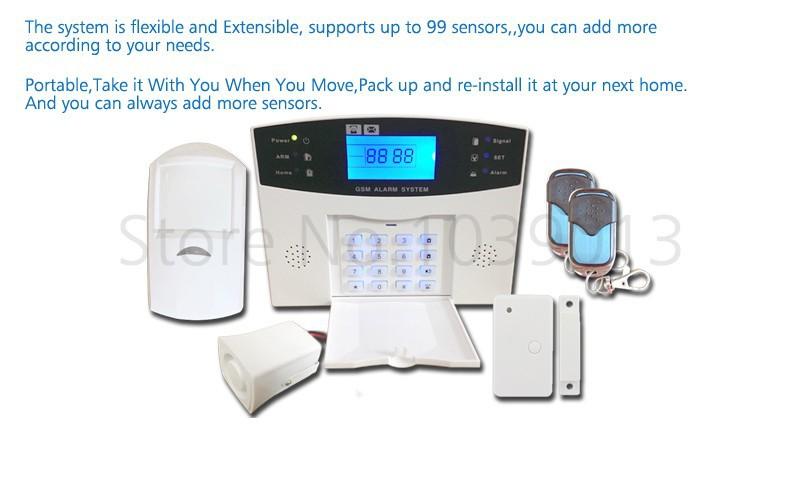 alarm system kit G500-7