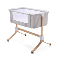 Baby Portable Bed connected with parents' normal big bed Infant Travel Sleeper Portable Cot breathable folding crib