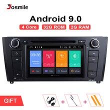 Авторадио 1 Din Android 9,0 автомобильный dvd-плеер для BMW E87 1 серия E88 E82 E81 I20 D навигация Мультимедиа gps Wifi Bluetooth аудио