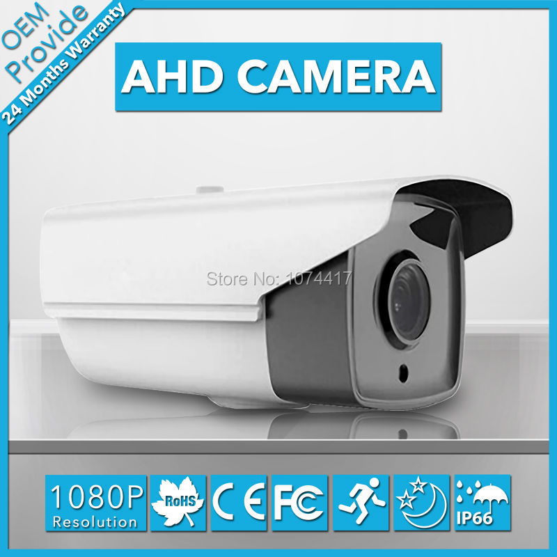 AHD2200H-T 1080P  Bullet Outdoor/Indoor AHD Camera 2.0MP Waterproof Security Camera With IR Cut 1080P Lens bullet camera tube camera headset holder with varied size in diameter