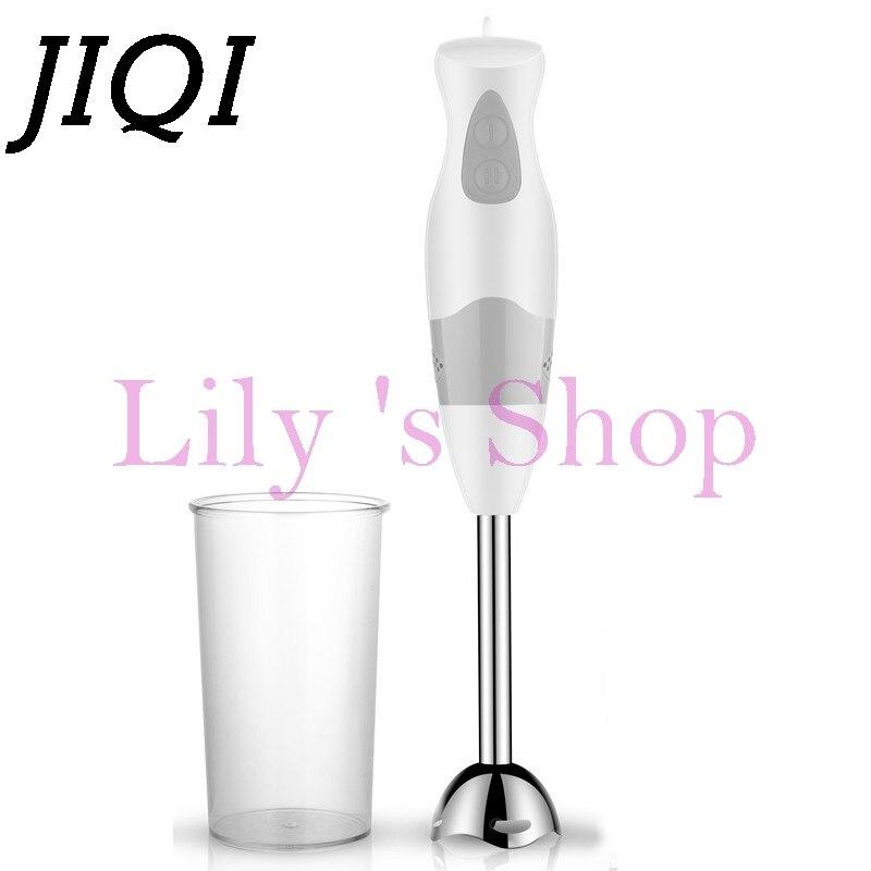 JIQI Multifunction household electric hand blender baby food Stick food processors juice milk mixer Egg Whisk Meat Grinder EU US цены онлайн
