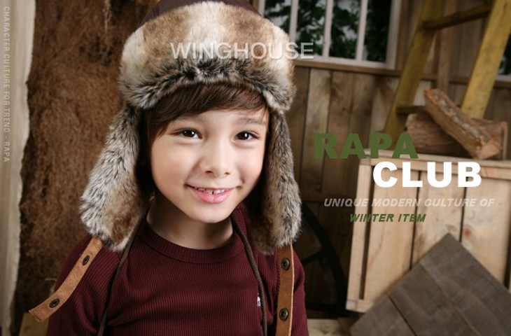 cd29f66f3e4 New Children Windproof Hats Kids Winter Earflap Snow Hat Ear Warmer Earmuff  Leifeng Baby Boy Hats Caps for 3 8 years DH00017-in Hats   Caps from Mother  ...