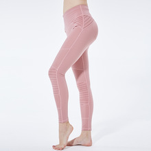 Women Fitness Yoga Pants For Sportswear Stretchy Leggings Seamless Tummy Control Gym Compression Training Tights Pant цена 2017