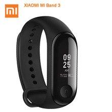 Оригинальный Xiaomi mi Band 3 mi band 3 Smart Tracker группа мгновенное сообщение 5ATM водостойкий OLED сенсорный экран mi полосы