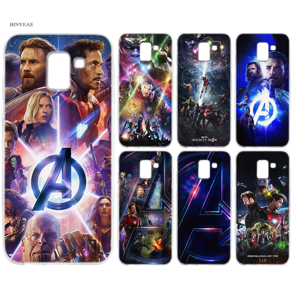 Phone Bags & Cases Ultra-thin Tpu Soft Case For Samsung Galaxy A50 A30 A10 A9 A8 A7 A6 Plus 2018 Samsung J6 J8 J4 Plus 2018 Avengers Doctor Strange Fitted Cases