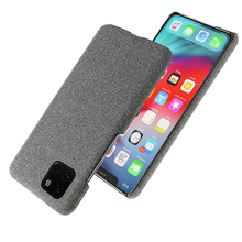 for iPhone 11 Pro Max 6.5 11 6.1 2019 Case Slim Back Hard PC Woven Shockproof Cloth Cover for iPhone X XS Max XR 5 5S SE Case цена