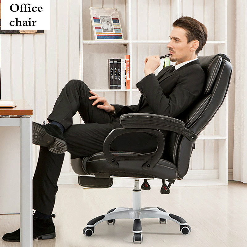 Computer Chair Massage Break Chairs Home Office Reclining Executive Swivel Lifting Boss Chaise Cadeira Gamer Silla Oficina