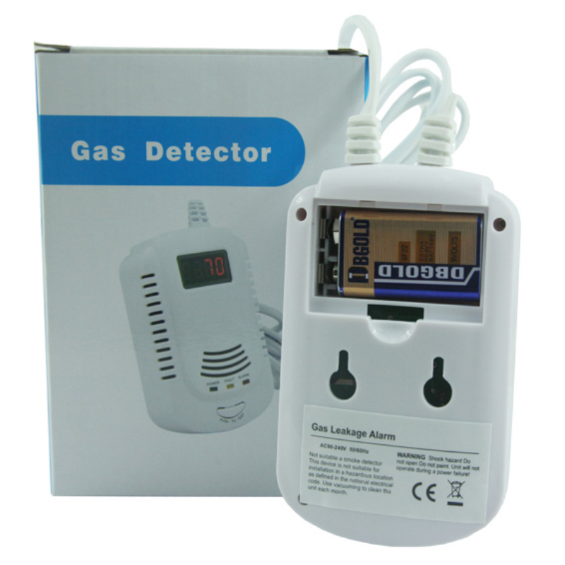 gas alarm with Solenoid valve3