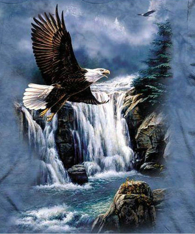 NºBRICOLAJE Pintura Diamante redondo Cascada Patrones de Mosaico de ...