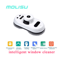 MOLISU Auto Clean Anti Falling Smart Window Glass Cleanercontrol Robot Vacuum Cleaner Free Shipping