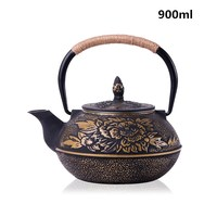 Japan Southern Cast iron kettle old iron pot shells Japanese tea pots health boiler scale iron pot 800ml~1000ml uncoated iron