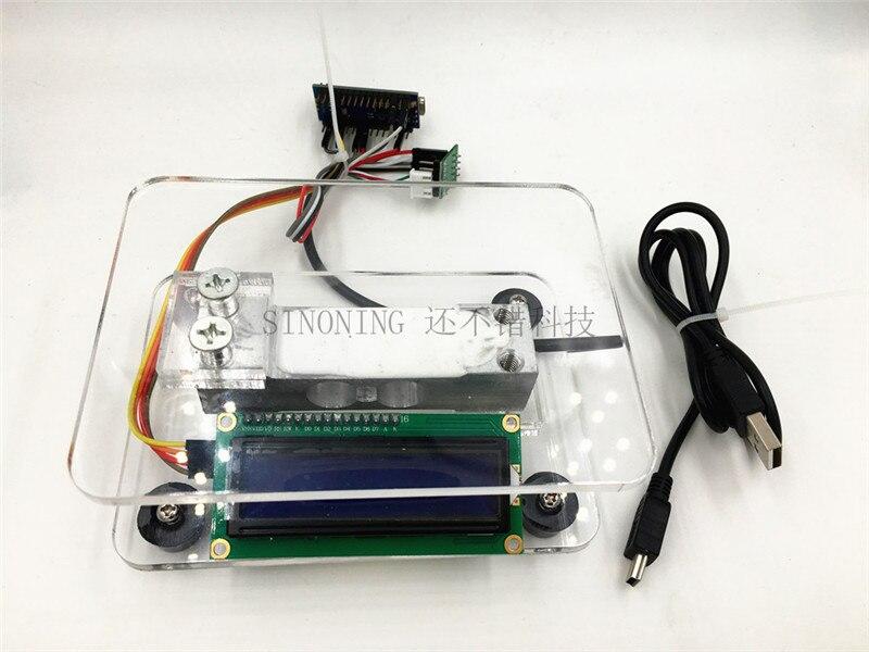 10 kg arduino uno/nano hx711 balance électronique diy kit avec source code