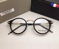 Thom Brand Prescription Eyeglasses Frames Men And Women Fashion Reading Glasses Computer Optical Frame TB807 With