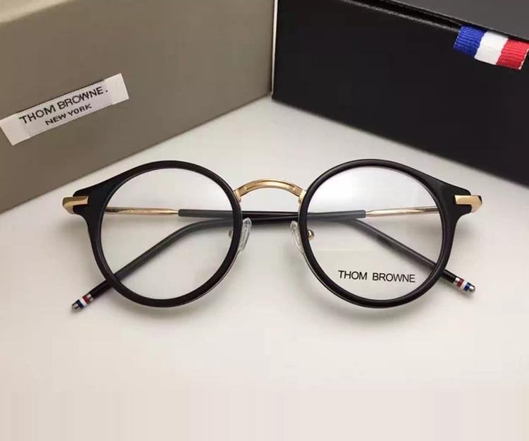 Thom Brand prescription Eyeglasses Frames Men And font b Women b font font b Fashion b