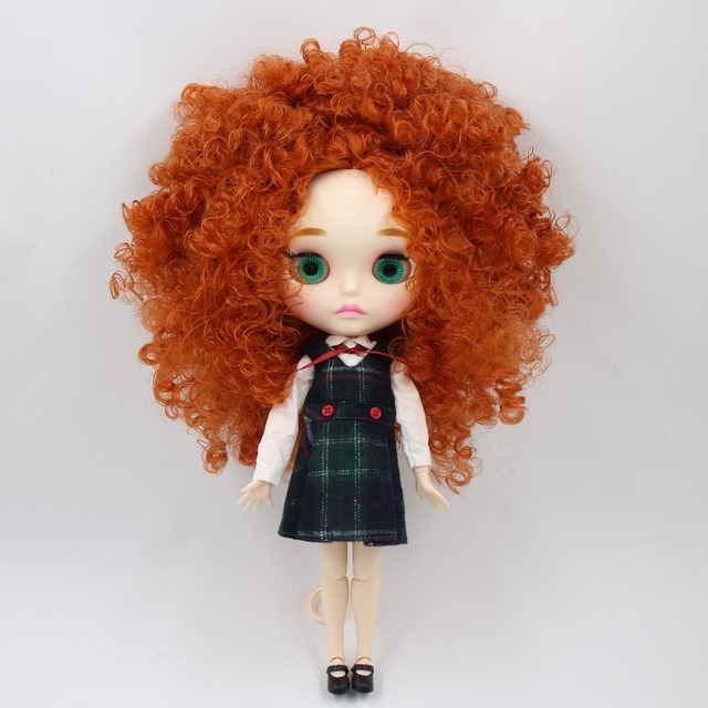 factory blyth doll bjd combination doll with clothes shoes or new face naked doll 1/6 30cm 5