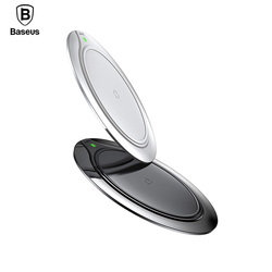 Baseus 10W Metal Qi Wireless Charger For iPhone X 8 Plus Fast Desktop Wireless Charging Pad for Samsung Galaxy S9 S8 Plus Xiaomi