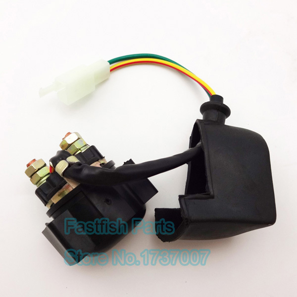universal relay starter solenoid 2 wires for chinese pit dirt bike 50cc  250cc atv quad moped scooter go kart motorcycle parts-in motorcycle  switches from
